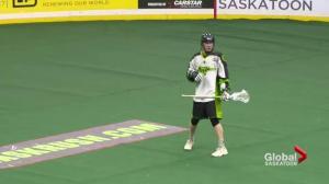 Saskatchewan Rush rookie Anthony Hallborg hoping to make roster