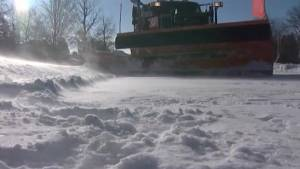 Kingston hit by first big winter storm