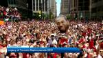 Toronto Raptors leave behind legacy after historical victory parade