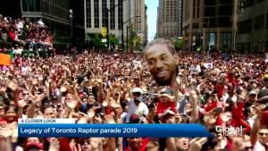 Toronto Raptors leave behind legacy after historical victory parade