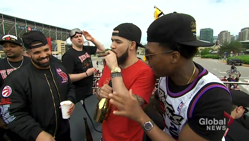 Live Coverage: Toronto Raptors Celebrate Historic NBA Win With Downtown Parade