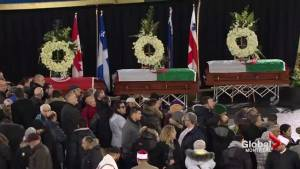 Montreal funeral for 3 Quebec City mosque shooting victims