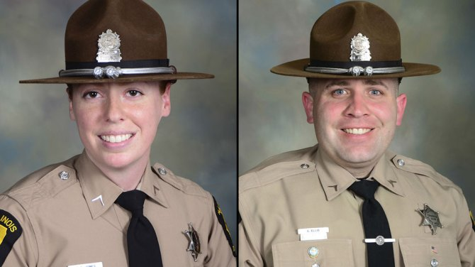 Illinois loses 2 state troopers in 3 days from highway crashes