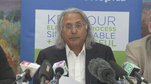 Former B.C. Premier Ujjal Dosanjh against proportional representation