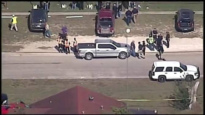 Image result for photos of Baptist church in Sutherland Springs,