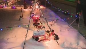 10,000 bulbs bright: Kelowna Christmas display supports Salvation Army (01:50)
