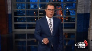 Stephen Colbert mocks Trump for saying, 'collusion is not a crime'
