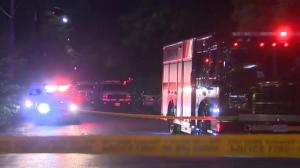 Police suspect Annex shooting tied to pedestrian struck by car