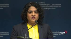 OHRC spokesperson recounts 2013 incident involving Toronto Tavis officer