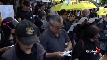 Image result for Vancouver activists vow to keep fighting after Hong Kong suspends extradition bill