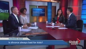 Divorce better for the kids?