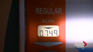 Gasoline prices drop because of falling oil prices