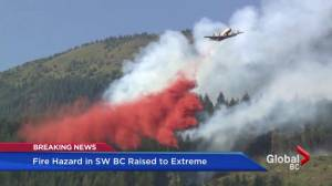 Fire danger increases as the temperatures climb (02:26)