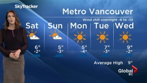 Weather, Global News at 6 BC – March 1st