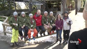 Grouse Mountain rescue heroes rewarded