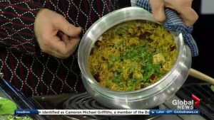 In the Global Edmonton kitchen with chef Vinod Lohtia