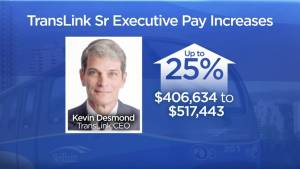 TransLink executives poised to receive significant pay raises