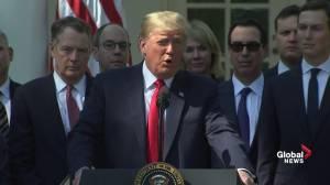 Trump sends condolences to Vegas shooting victims on 1st anniversary