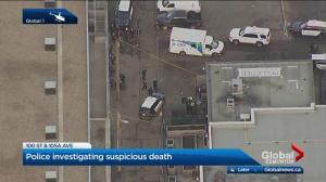 Edmonton police investigate woman's death