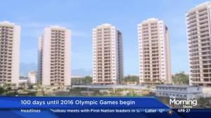 100 days until 2016 Olympic Games begin