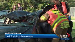 Edmonton students learn about consequences of driving high