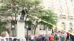Protesters in North Carolina topple Confederate monument
