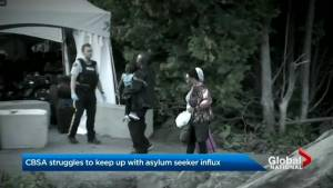 CBSA struggles to keep up with asylum seeker influx