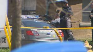 Toronto Police apprehend suspect wanted on a warrant after standoff