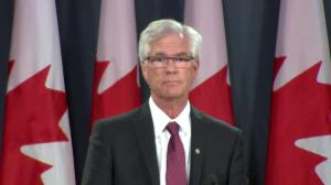 Natural resources minister talks Obama rejecting Keystone XL, greenhouse gas concerns