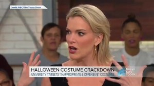 Megyn Kelly questions why dressing up in blackface for Halloween costume is wrong