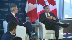 Alberta's 'challenges' are significant: Morneau