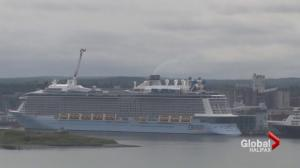 Largest cruise ship to ever visit Halifax brings record number of passengers