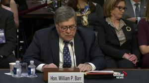 'I believe we need a barrier system on the southern border': Barr