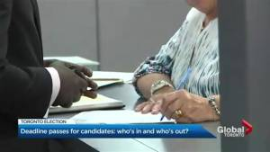 And they're off! Election battles finalized for 25 Ward Election