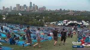Edmonton Folk Festival wraps up after sometimes sunny, sometimes soggy weekend (01:16)
