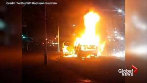 Uber drivers' cars bombed, lit on fire in South Africa feud