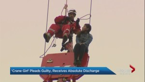 'Crane Girl' gets absolute discharge and $200 surcharge