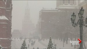 One dead after severe snowfall hits Moscow