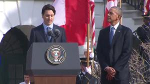 Justin Trudeau fires back at Obama's jab about the Stanley Cup
