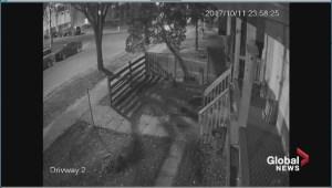 Surveillance video of frightening carjacking in Edmonton