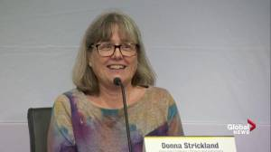 Donna Strickland recalls 5 a.m. wake-up call about Nobel prize