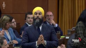 Jagmeet Singh calls on Trudeau to support environmental bill of rights