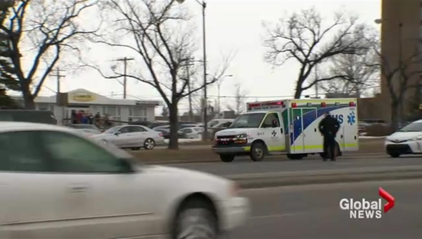 Calgary police officer shot, stable in hospital