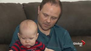 Surrey speedway crash survivor celebrates first Father's Day