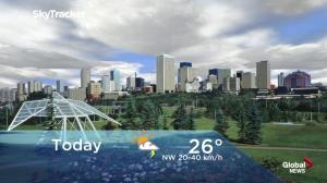 Edmonton early morning weather forecast: Friday, June 22, 2018