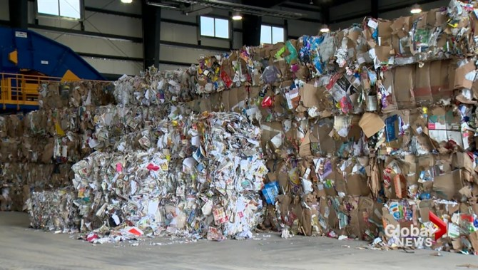 Lethbridge one step closer to curbside recycling as materials recovery facility opens