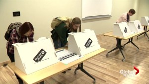 Alberta political parties make final appeal to undecided voters