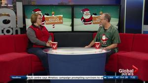 630 CHED Santas Anonymous Eskimos Fundraiser