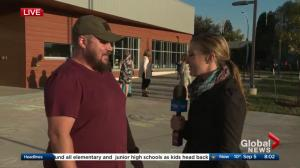 Parent excited for opening of new Edmonton school