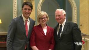Carla Qualtrough takes over as Minister of Public Services